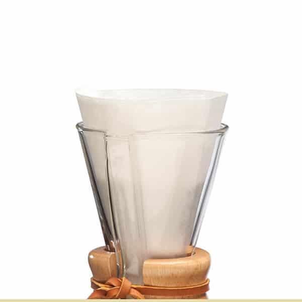 Filtros blanco CHEMEX para 3 tazas